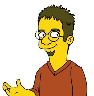 Mike as a character on The Simpsons