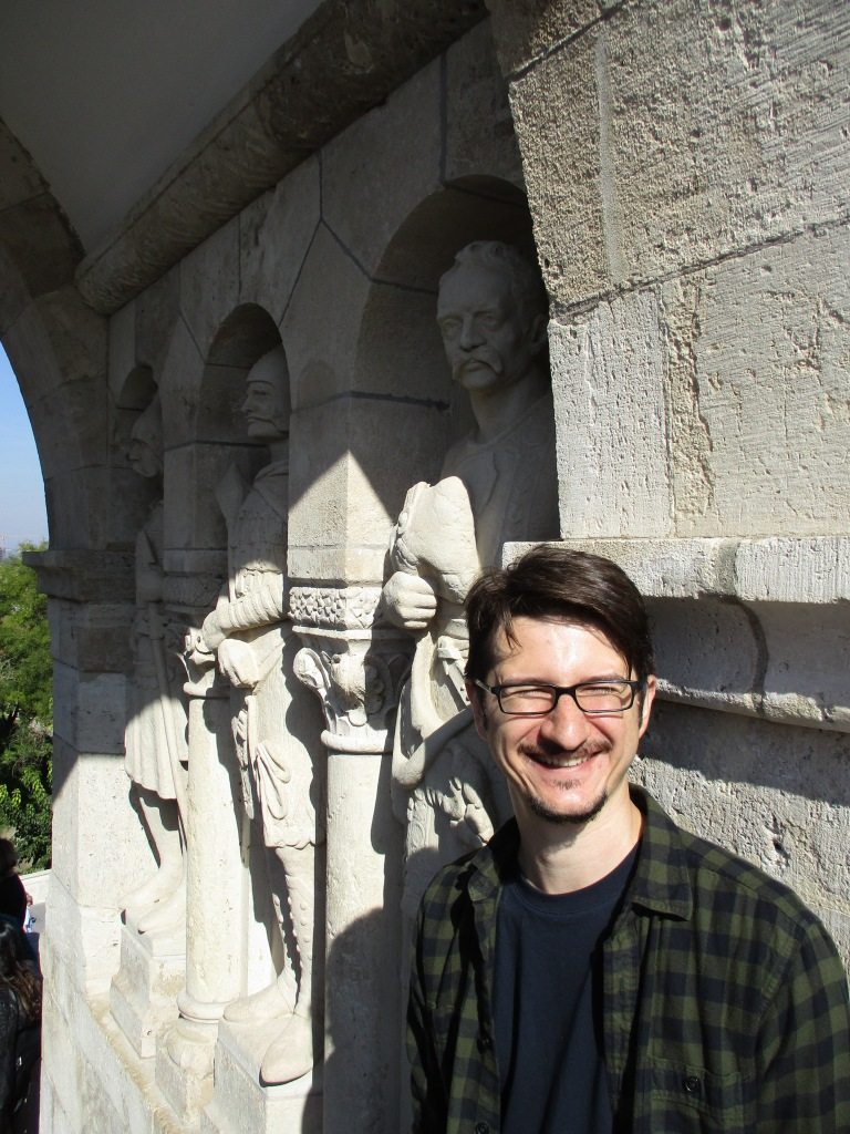 Mike visiting Budapest, Hungary